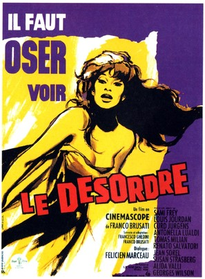 Il disordine - French Movie Poster (thumbnail)
