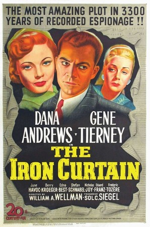 The Iron Curtain - Movie Poster (thumbnail)
