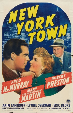 New York Town - Movie Poster (thumbnail)