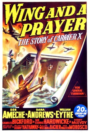 Wing and a Prayer - Australian Movie Poster (thumbnail)