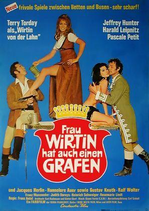 Frau Wirtin hat auch einen Grafen - German Movie Poster (thumbnail)