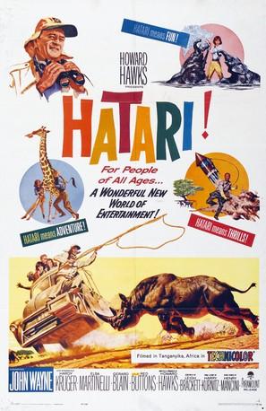 Hatari! - Movie Poster (thumbnail)