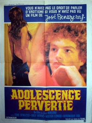 Adolescence pervertie - French Movie Poster (thumbnail)