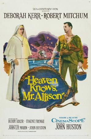 Heaven Knows, Mr. Allison - Movie Poster (thumbnail)