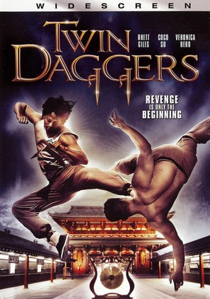 Twin Daggers - DVD cover (thumbnail)