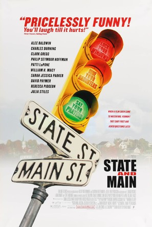 State and Main - Movie Poster (thumbnail)
