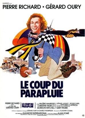 Le coup du parapluie - French Movie Poster (thumbnail)