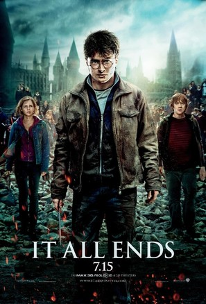 Harry Potter and the Deathly Hallows: Part II - Movie Poster (thumbnail)