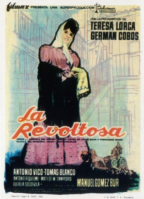 Revoltosa, La - Spanish Movie Poster (thumbnail)