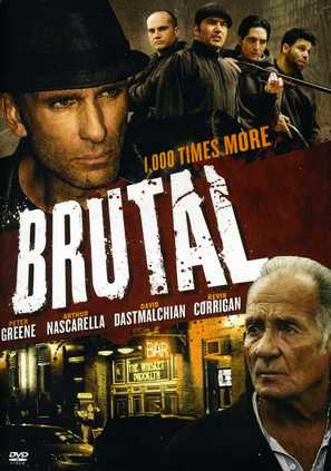 Brutal - DVD movie cover (thumbnail)