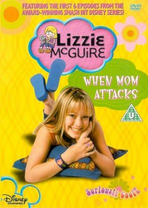 """Lizzie McGuire"" - British DVD movie cover (thumbnail)"