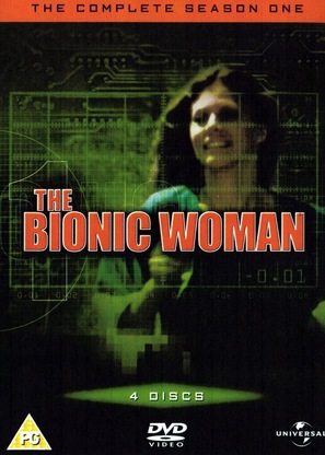"""The Bionic Woman"" - British DVD cover (thumbnail)"