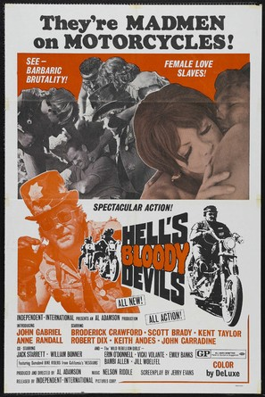 Hell's Bloody Devils - Movie Poster (thumbnail)