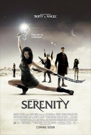 Serenity - British Movie Poster (thumbnail)
