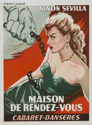 Aventurera - Belgian Movie Poster (thumbnail)