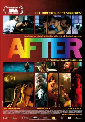 After - Spanish Movie Poster (thumbnail)