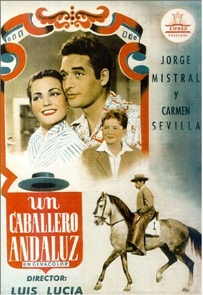 Un caballero andaluz - Spanish Movie Poster (thumbnail)