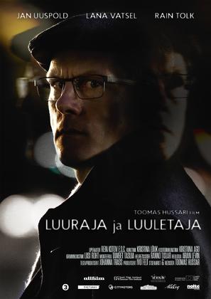 Luuraja ja luuletaja - Estonian Movie Poster (thumbnail)