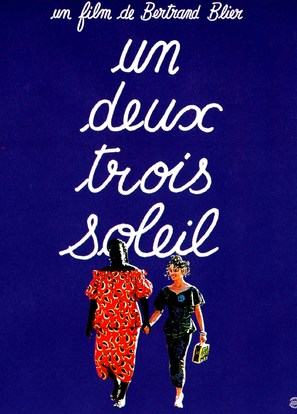 Un, deux, trois, soleil - French Movie Poster (thumbnail)