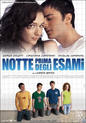 Notte prima degli esami - Italian Movie Poster (thumbnail)