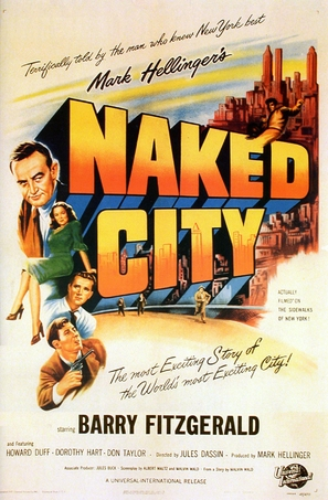 The Naked City - Movie Poster (thumbnail)