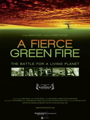 A Fierce Green Fire - Movie Poster (thumbnail)