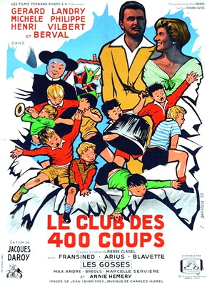 Le club des 400 coups - French Movie Poster (thumbnail)