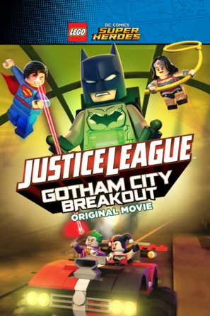 Lego DC Comics Superheroes: Justice League - Gotham City Breakout - Movie Cover (thumbnail)