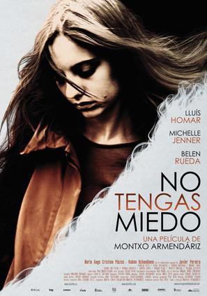No tengas miedo - Spanish Movie Poster (thumbnail)