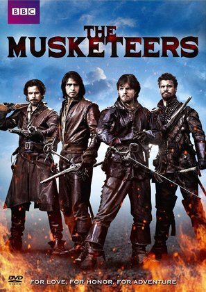 """""""The Musketeers"""" - DVD movie cover (thumbnail)"""