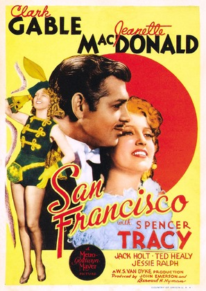 San Francisco - Movie Poster (thumbnail)