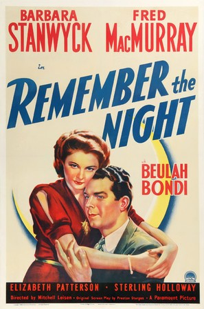 Remember the Night - Movie Poster (thumbnail)