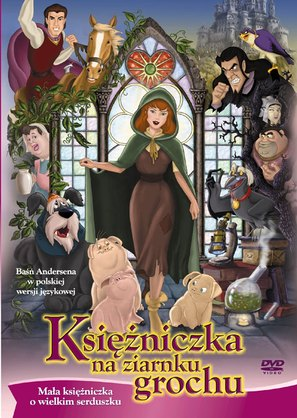 princess and the pea movie. Delighful The Princess And The Pea  Polish DVD Cover Thumbnail To And The Movie L
