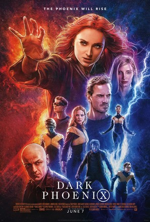 Dark Phoenix - Movie Poster (thumbnail)