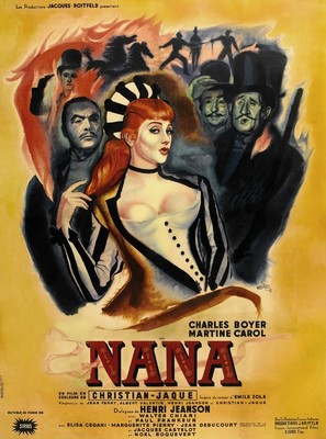 Nana - French Movie Poster (thumbnail)