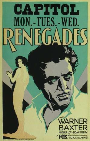 Renegades - Movie Poster (thumbnail)