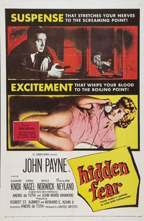 Hidden Fear - Movie Poster (thumbnail)
