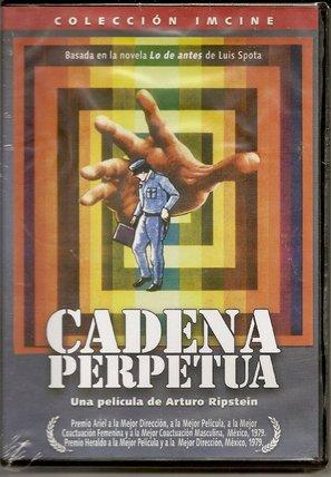 Cadena perpetua - Mexican DVD movie cover (thumbnail)