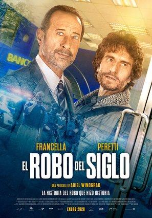 El robo del siglo - Argentinian Movie Poster (thumbnail)