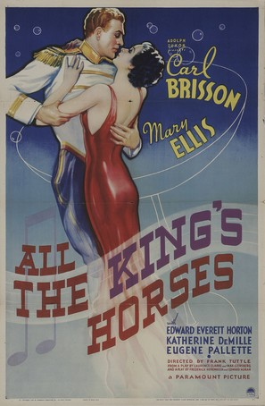 All the King's Horses - Movie Poster (thumbnail)