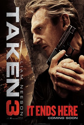 Taken 3 - Movie Poster (thumbnail)