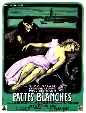 Pattes blanches - French Movie Poster (thumbnail)