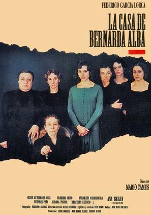 Casa de Bernarda Alba, La - Spanish poster (thumbnail)