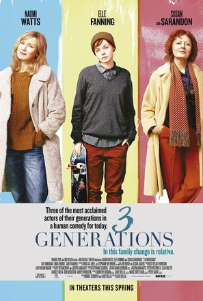 3 Generations - Movie Poster (thumbnail)