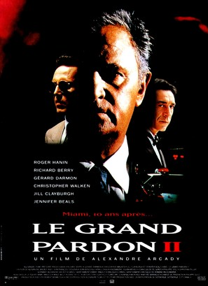 Le grand pardon II - French Movie Poster (thumbnail)