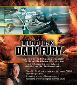The Chronicles of Riddick: Dark Fury - Movie Poster (thumbnail)