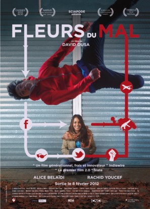 Fleurs du mal - French Movie Poster (thumbnail)