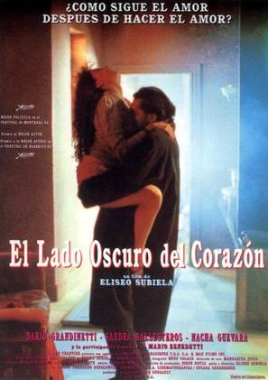 El lado oscuro del corazón - Argentinian Movie Poster (thumbnail)