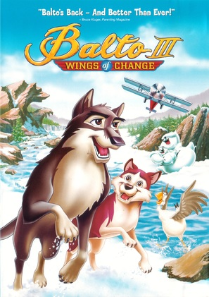 Balto III: Wings of Change - DVD movie cover (thumbnail)