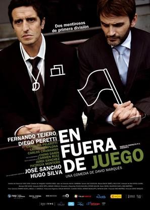 En fuera de juego - Spanish Movie Poster (thumbnail)